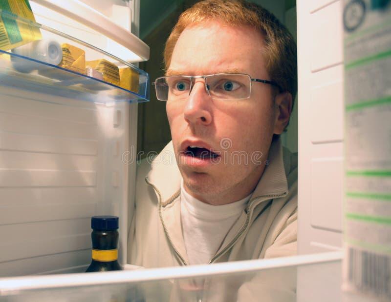 znalezienia fridge obraz stock