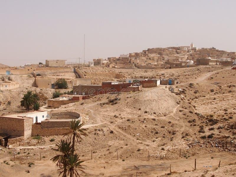 Zniszczeni mieszkania berbers obraz stock