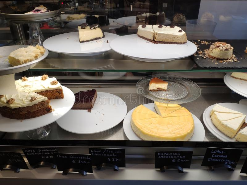 Zo veel cake stock fotografie