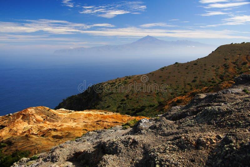 zobaczyć gomera Tenerife zdjęcia royalty free