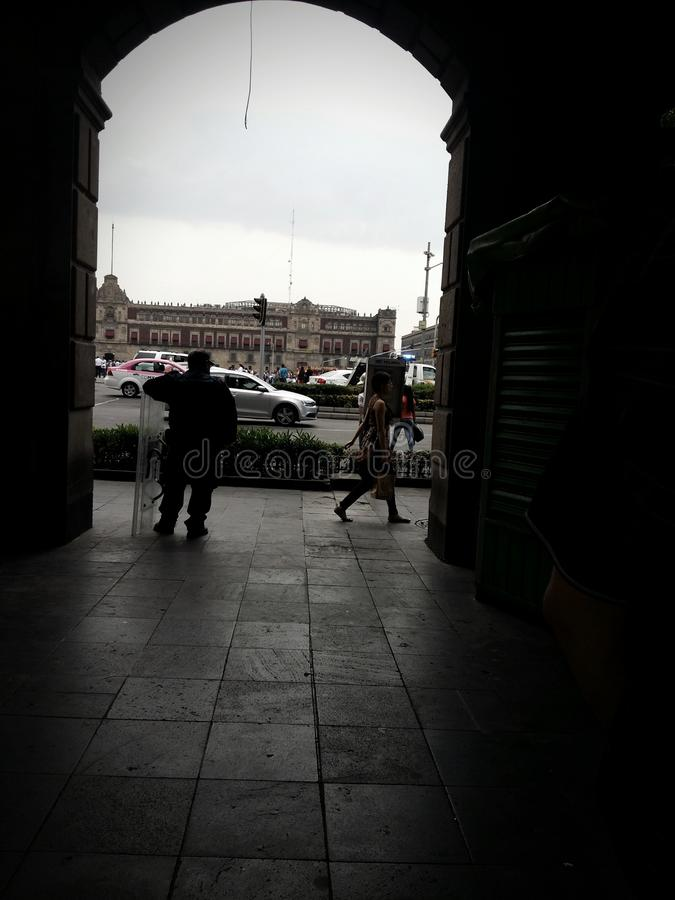 Zocalo stockfotografie
