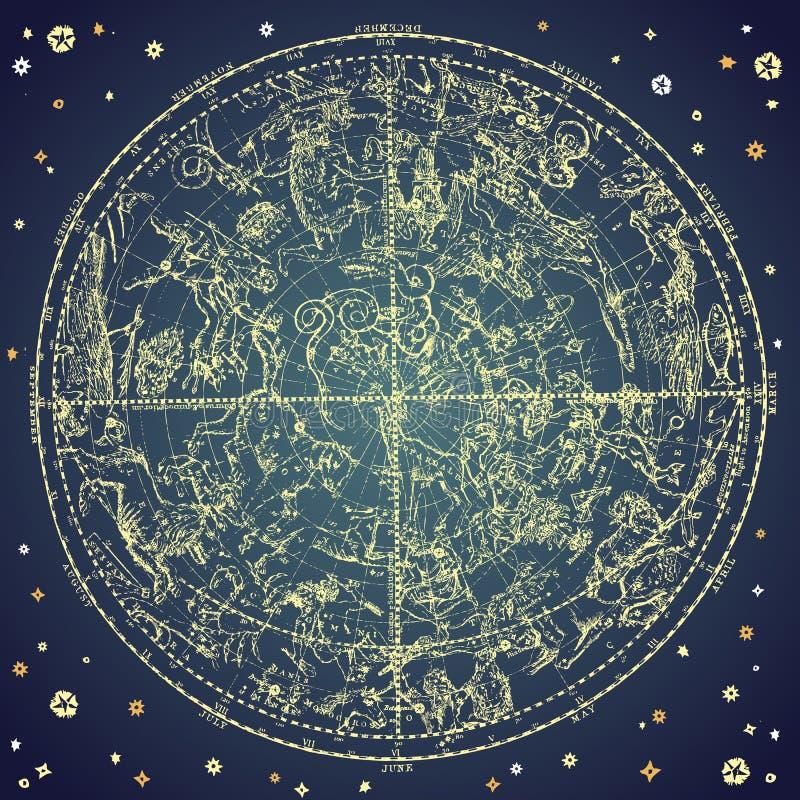 zodiac απεικόνιση αποθεμάτων