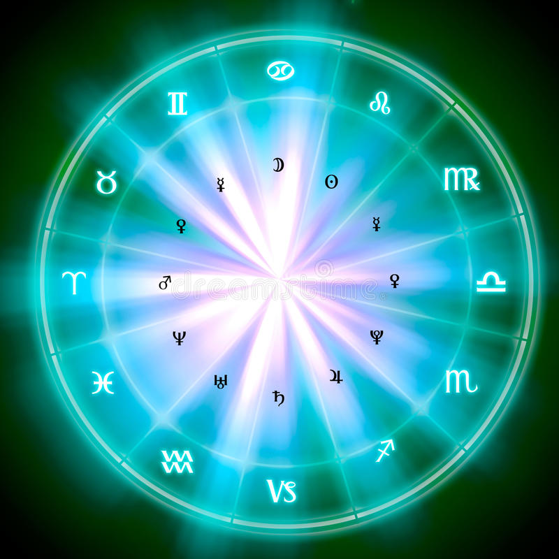 zodiac stock illustratie