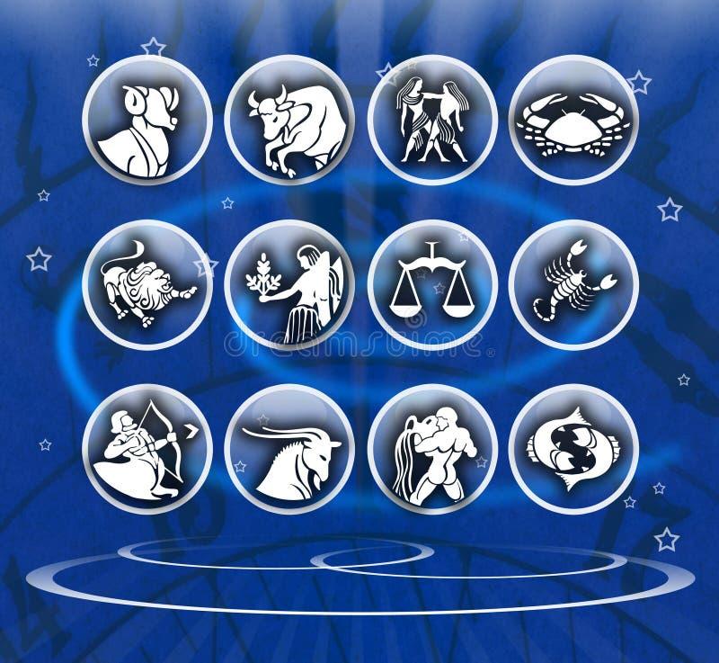Download Zodiac background stock illustration. Image of background - 18446230