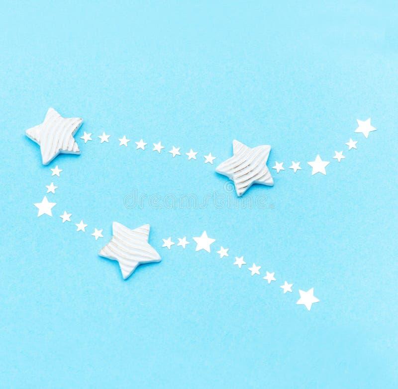 Zodiac constellation Gemini royalty free stock photography