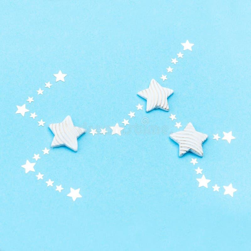 Zodiac constellation Sagittarius stock photos