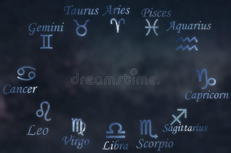 Zodiac constellations. Zodiac signs. Signs of zodiac. Zodiac constellations. Galaxy background. Zodiac constellations. Zodiac signs. Signs of zodiac.Galaxy vector illustration