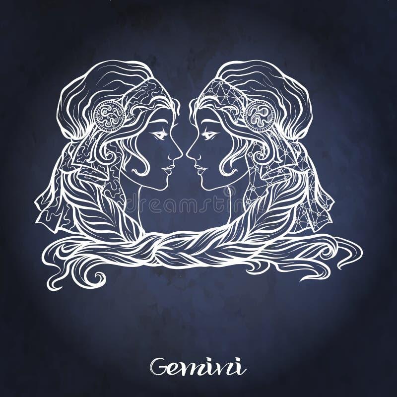 zodiac för symboler tolv för illustrationsdesigntecken olik Astrologisk horoskopsamling också vektor för coreldrawillustration royaltyfri illustrationer