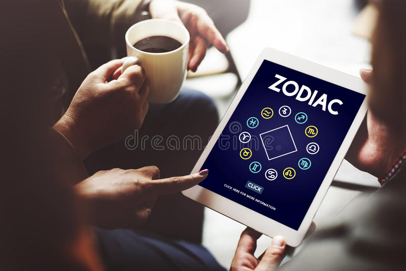 Zodiac Historic Prediction Astronomy Concept royalty free stock images