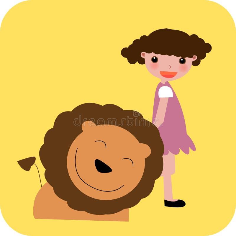 Zodiac- leo stock illustratie