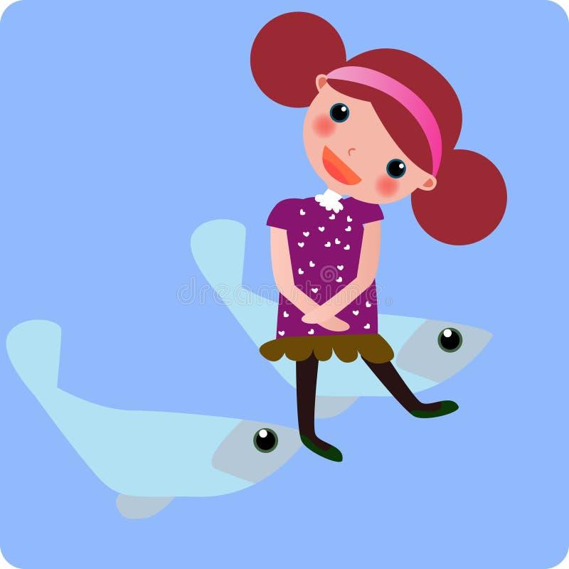 Download Zodiac- pisces stock vector. Illustration of sweet, illustration - 6124675