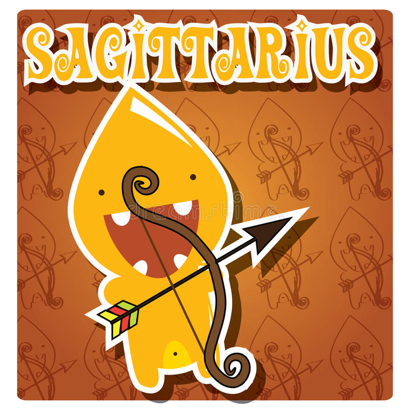 Zodiac Sign Sagittarius Stock Photos