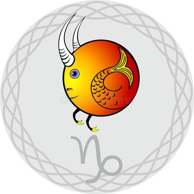 Download Zodiac signs capricorn stock vector. Image of horoscope - 21058445
