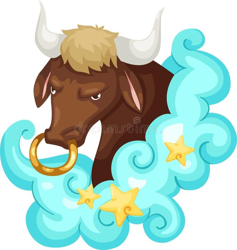 Zodiac signs - Taurus royalty free stock photos