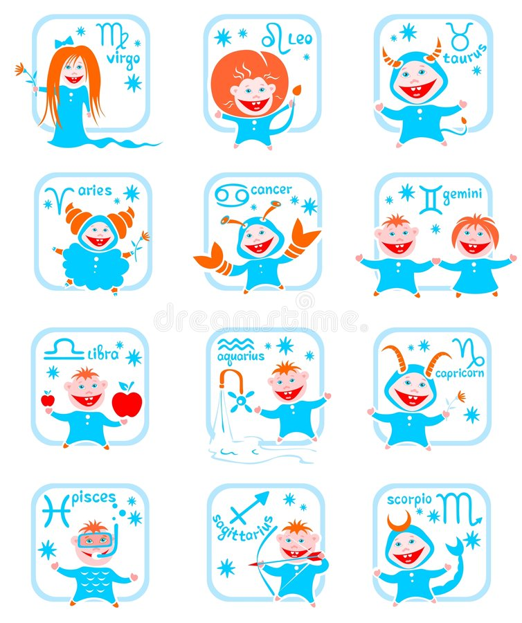 Download Zodiac Star Signs Royalty Free Stock Photo - Image: 7424215