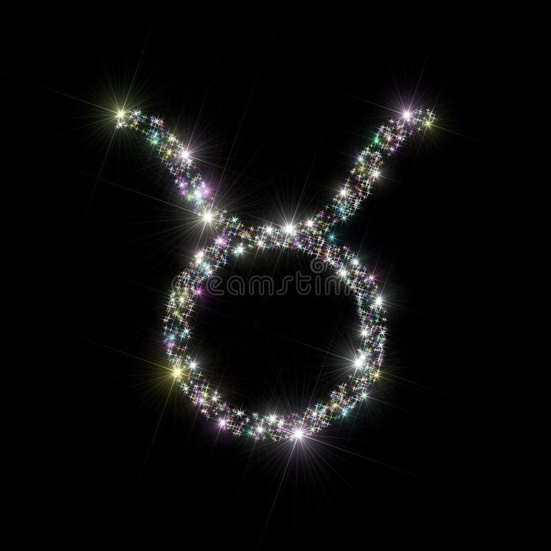 Zodiac stars Taurus royalty free stock photography