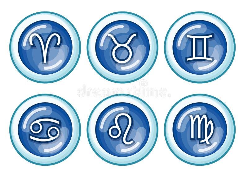 Zodiaco illustrazione vettoriale