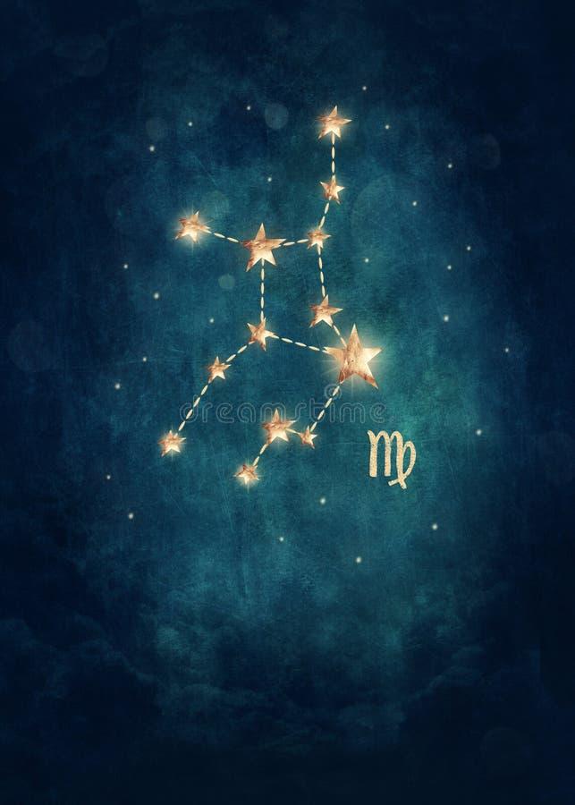 Zodiaco de Vigro stock de ilustración