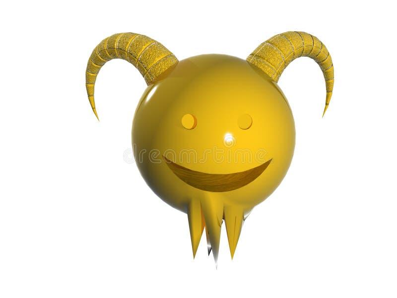 Zodiaco del Aries royalty illustrazione gratis