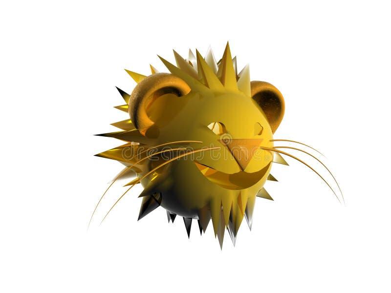 Zodiaco di Leon illustrazione di stock