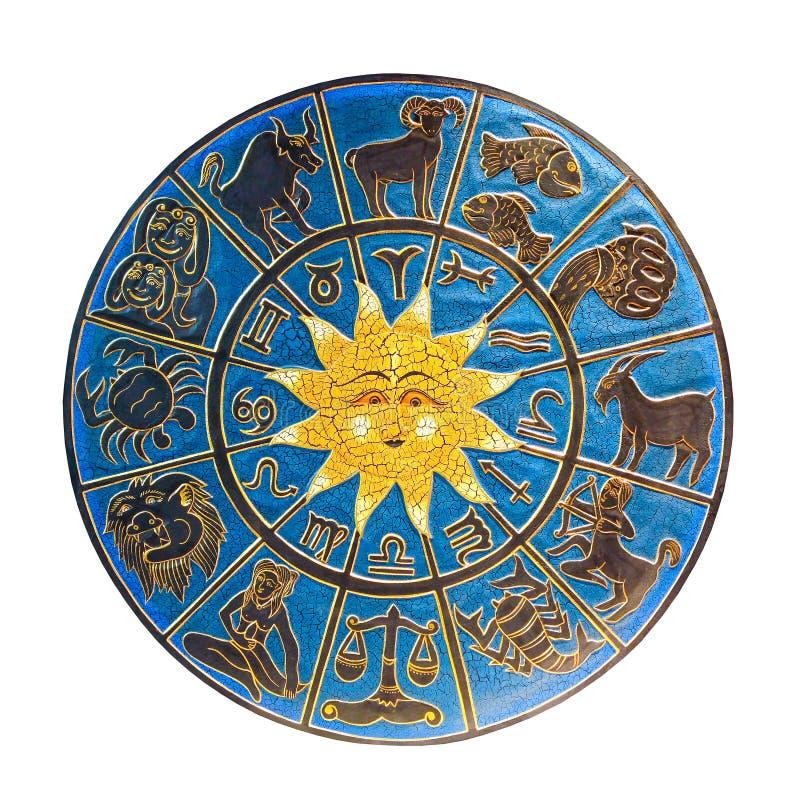 Zodiaco isolato immagine stock