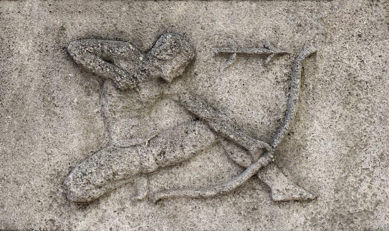 Zodiaco - Sagittario o Archer, immagini stock libere da diritti