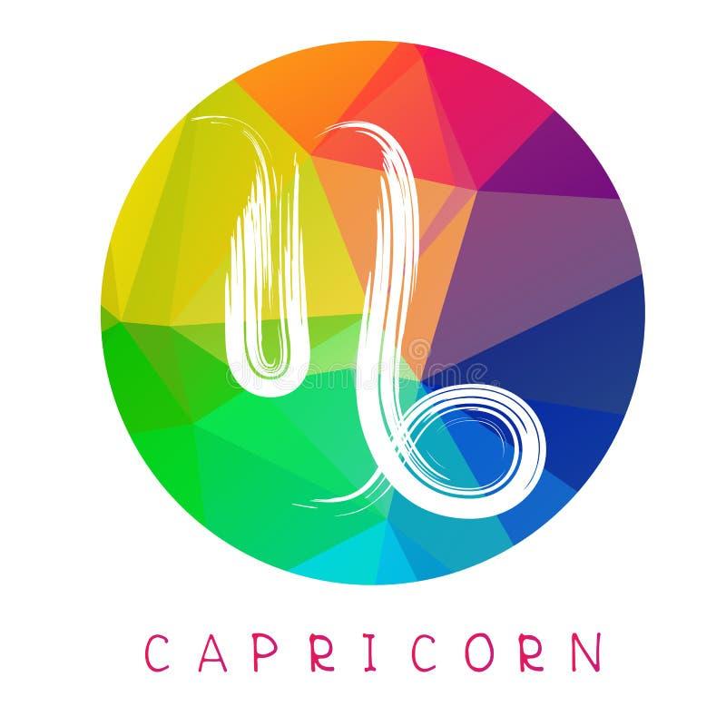 Zodiaco signs-10 stock de ilustración