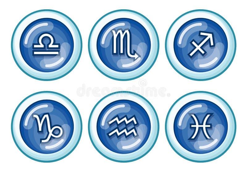 zodiak royalty ilustracja