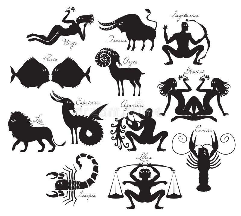 zodiak ilustracji