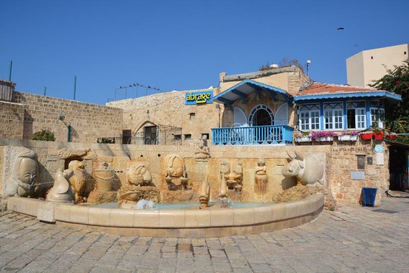 Zodiak fontanna obrazy royalty free