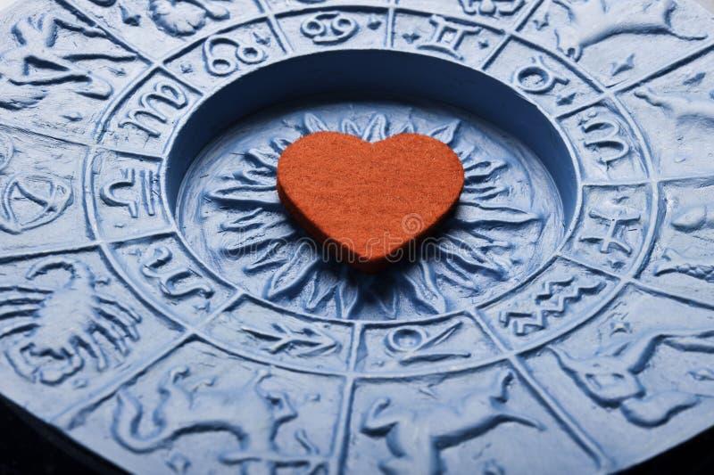 Zodiak i miłość obraz royalty free