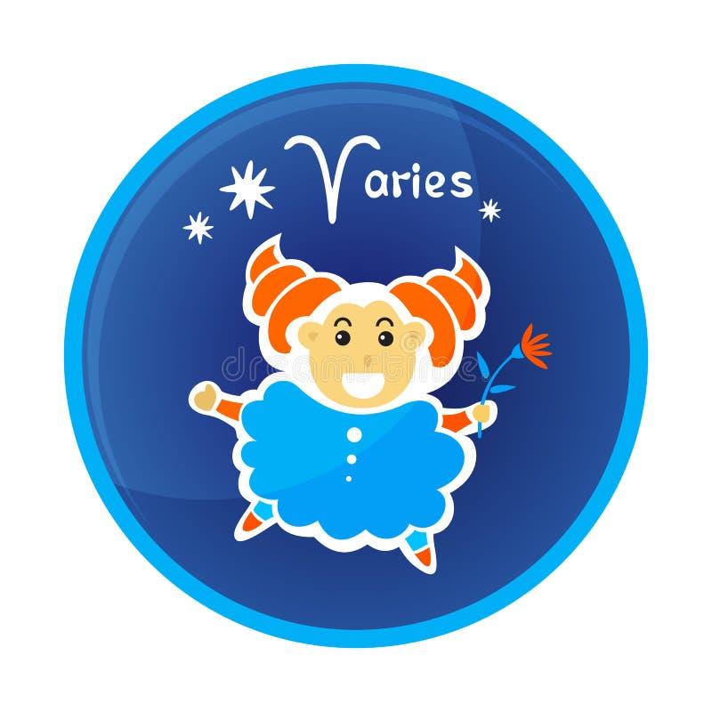 Zodiak signs-16 ilustracja wektor