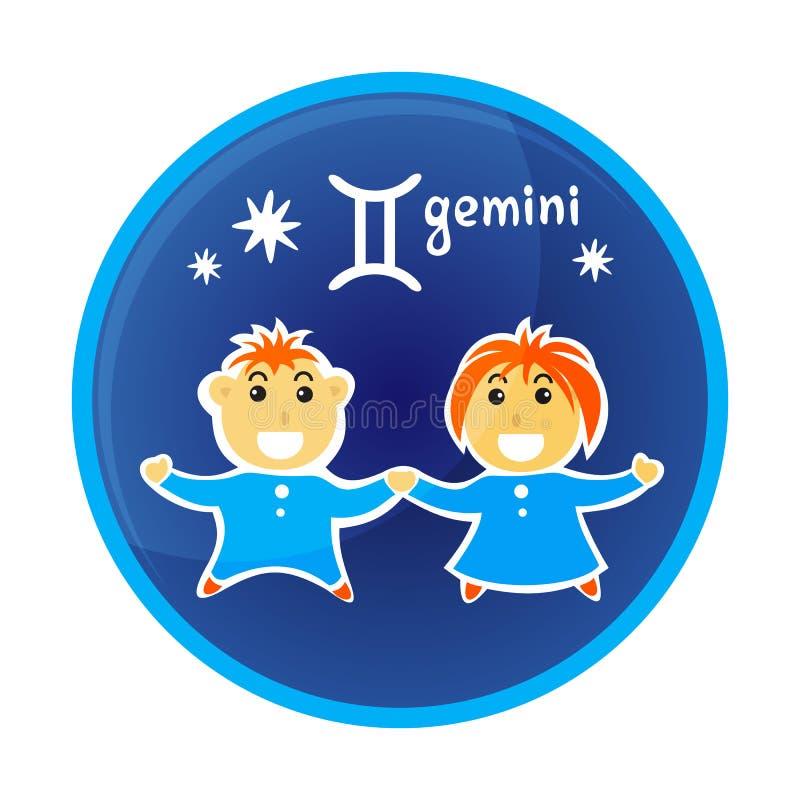 Zodiak signs-18 royalty ilustracja
