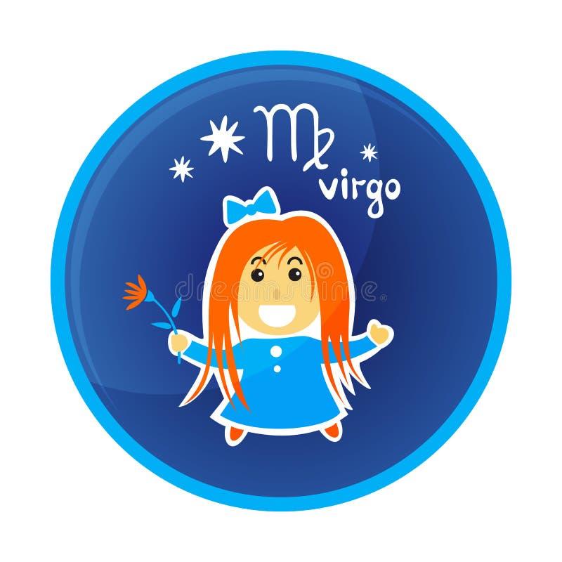 Zodiak signs-13 ilustracja wektor