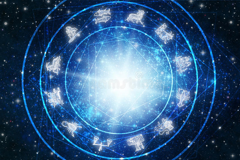 Zodiaque illustration libre de droits