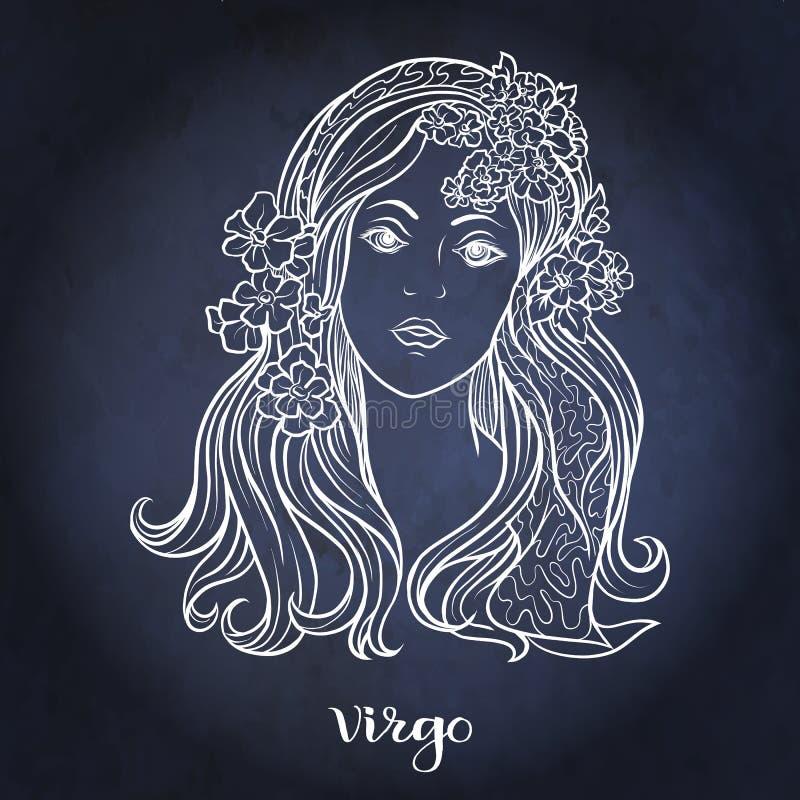 zodiaque des symboles douze de signe de conception de dessin-modèles divers Collection astrologique d'horoscope Illustration de v illustration stock