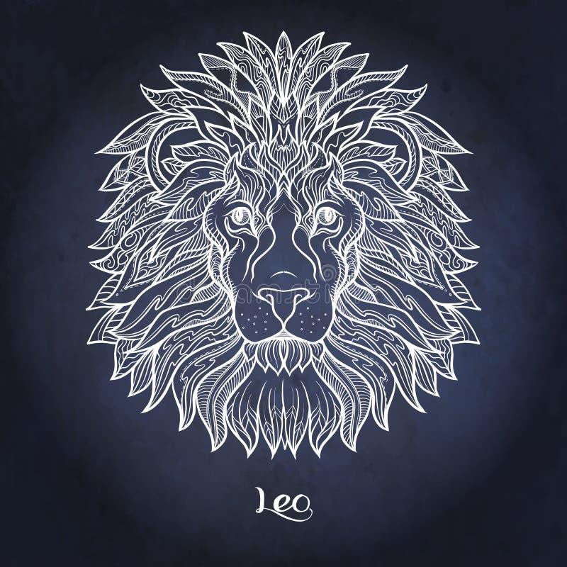 zodiaque des symboles douze de signe de conception de dessin-modèles divers Collection astrologique d'horoscope Illustration de v illustration libre de droits