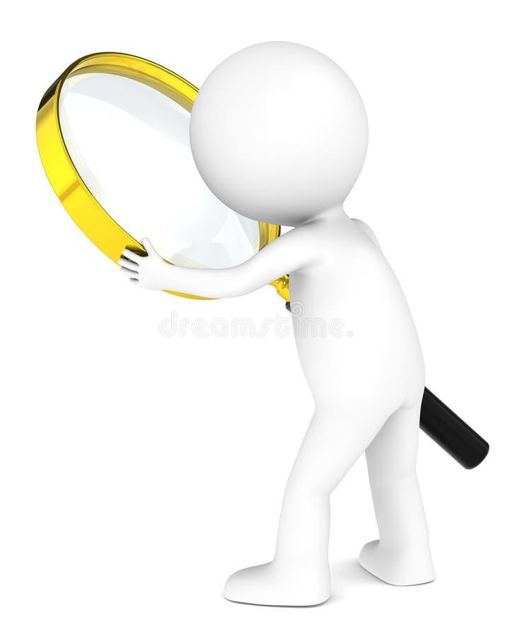 Zoek. stock illustratie