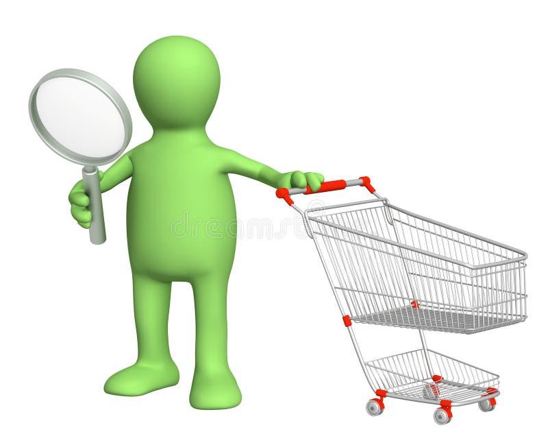 Zoek van verkoop vector illustratie