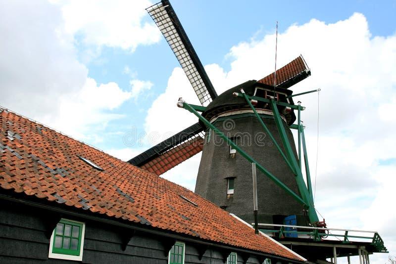 zoeker сарая масла стана de голландское стоковые изображения