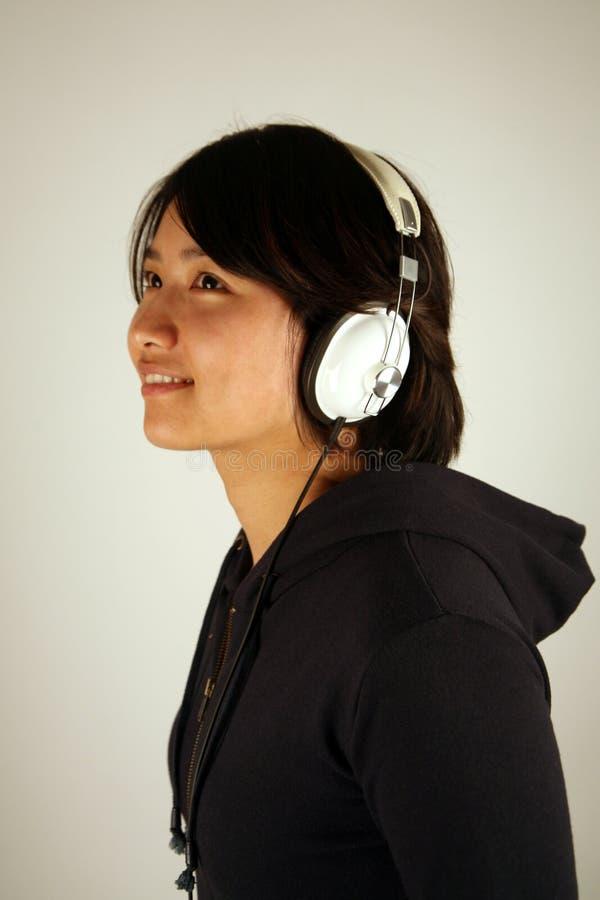Zoet Aziatisch Chinees meisje royalty-vrije stock foto's