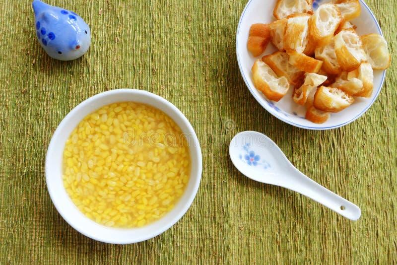 Zoet Aziatisch etnisch dessert royalty-vrije stock foto