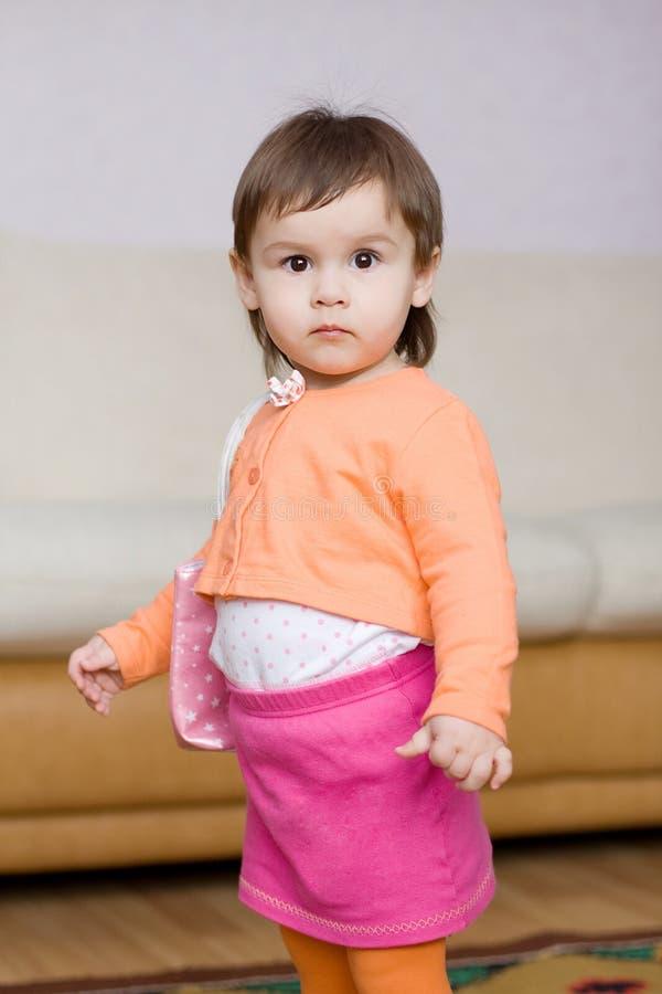 Zoet babymeisje royalty-vrije stock foto