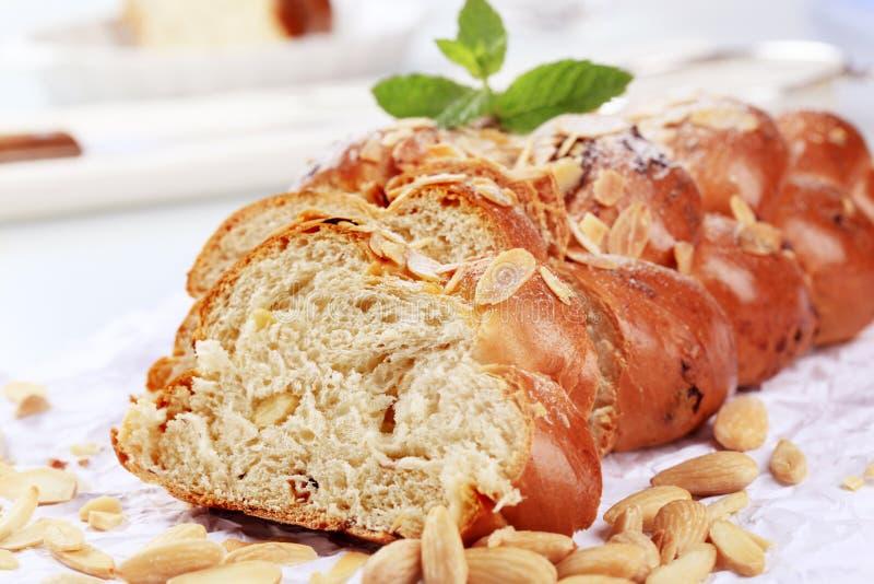 Zoet brood royalty-vrije stock afbeelding