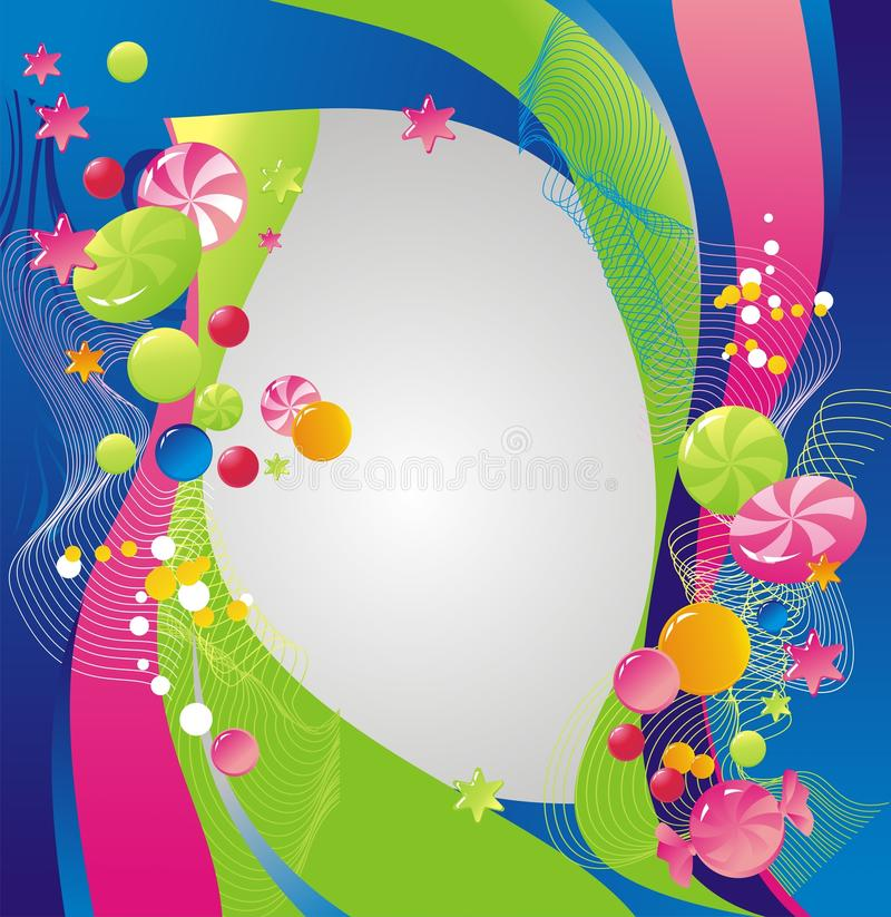 Zoet frame vector illustratie