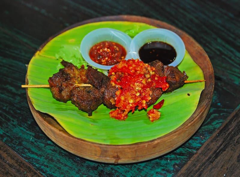 Zoet Fried Beef Daging Empal stock fotografie