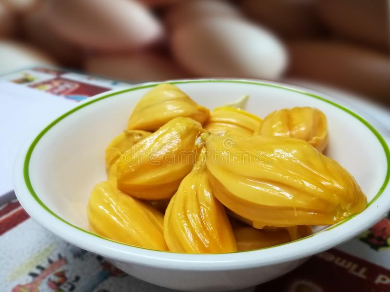 Zoet Jack Fruit stock fotografie