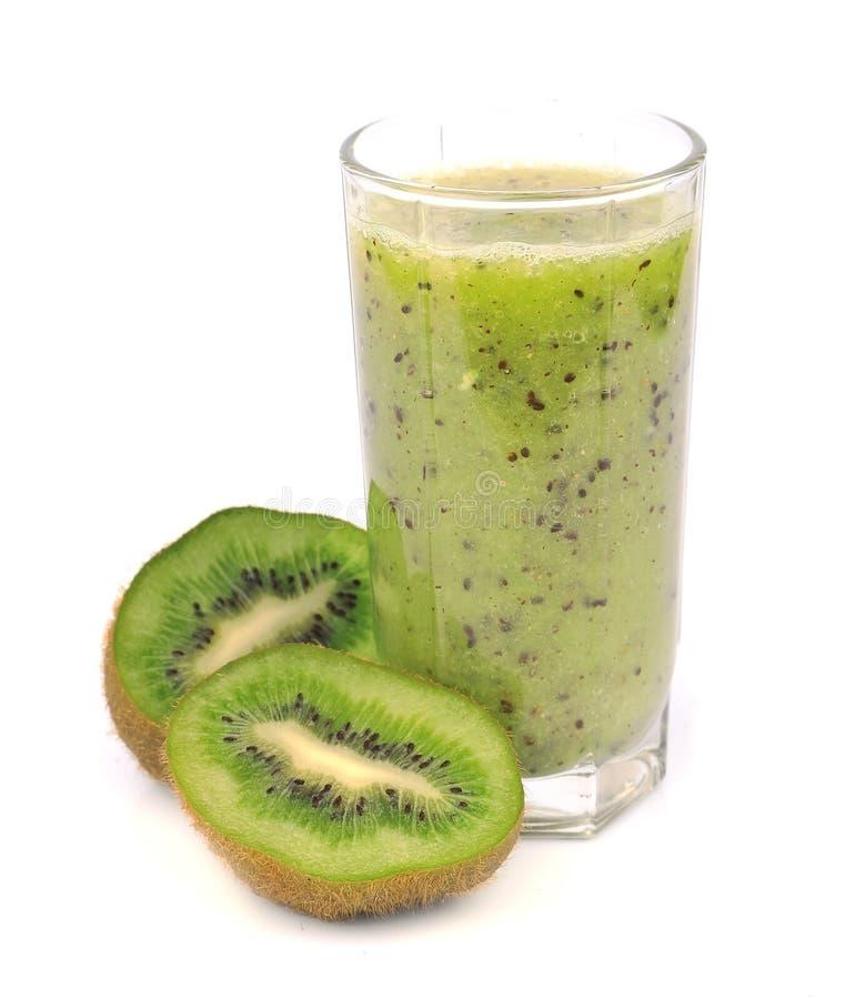 Zoet kiwifruit en smoothie stock fotografie