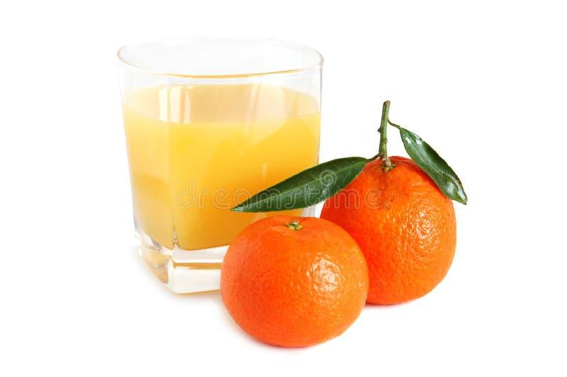 Zoet mandarijnensap royalty-vrije stock afbeeldingen