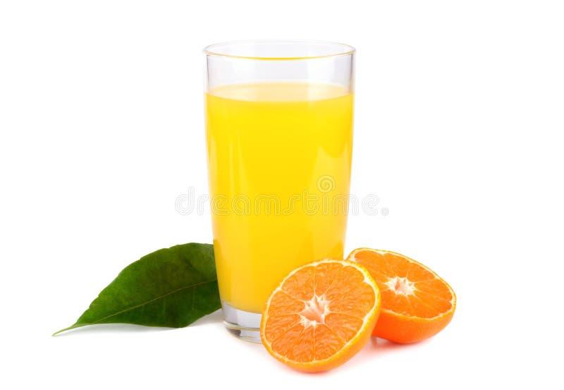 Zoet mandarijnensap royalty-vrije stock fotografie